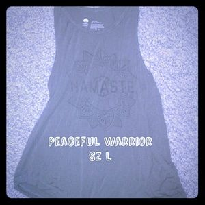 Peaceful Warrior Namaste Tanktop